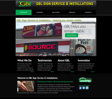 GBL Sign Service